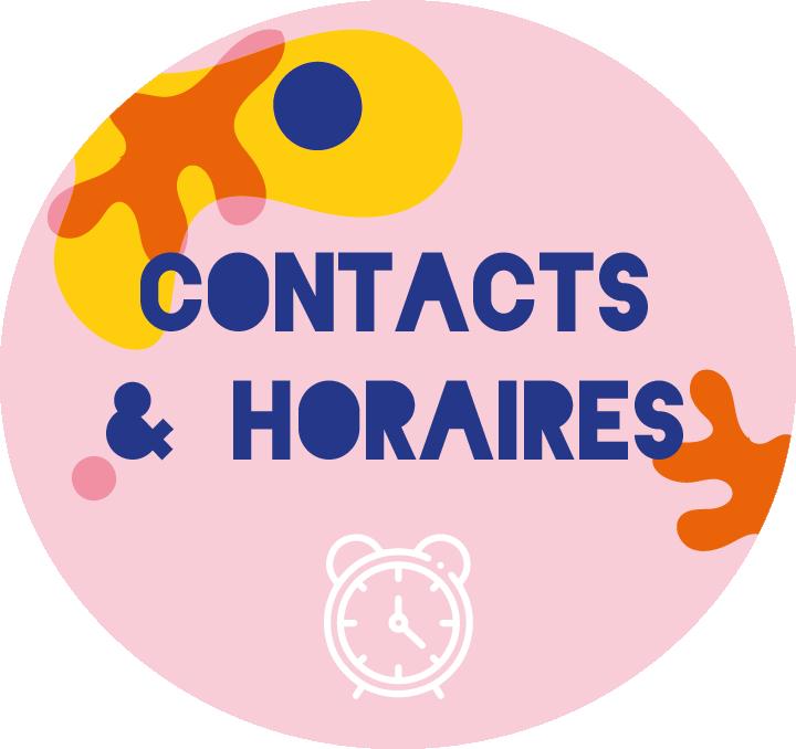 contacts et horaires